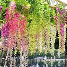 Hoa lụa, hoa giả dây leo – Hoa Fuji siêu đẹp