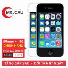 Điện thoại Apple iPhone 4 – 8GB – Bản QUỐC TẾ – Đổi trả miễn phí 7 tại nhà – Yên tâm mua sắm với Mr Cầu