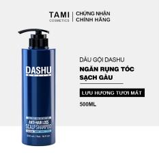 Dầu gội ngăn rụng tóc dành cho nam DASHU Anti – Hair Loss Scalp Shampoo Phục hồi tóc hư tổn Sạch gàu và ngứa dầu gội Hàn Quốc TM-DG01