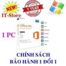 Phần mềm Office 365 Personal 32/64bits – Mã Sản Phẩm: QQ2-00570 Office 365 Personal English APAC EM Subscr 1YR Medialess P2