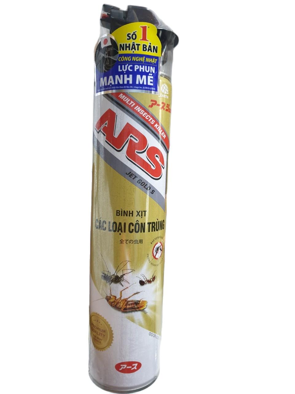 [HCM]Bình xịt côn trùng ARS 600ml CÔNG NGHỆ NHẬT BẢN LanvenderKhông Mùi