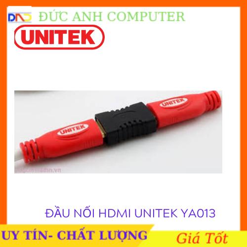 [Nhập NEWSELLERW503 giảm 10% tối đa 100K] Đầu nối cáp HDMI Unitek Y – A013 – bảo hành 12 tháng (đen) – full box cam kết sản phẩm đúng mô tả chất lượng đảm bảo