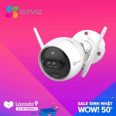 Camera Wifi Ezviz C3X có màu ban đêm C3X 1080P Full HD ( không cần đèn rọi ) , báo động AI , lưu hình và âm thanh