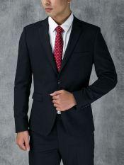 Bộ đồ Suit Aristino ASU007W7 màu Xanh tím than 49 kẻ