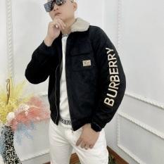 Áo khoác da lộn bbr