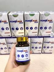 Viên Uống sinh lý nam giới Power Man – Tăng cường sinh lực cho phái mạnh