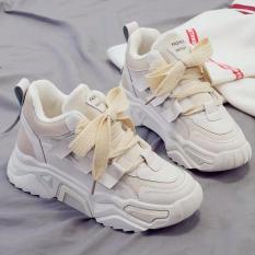 Giày thể thao sneaker nữ dây bản to độn đế thời trang hàn quốc đẹp giá rẻ