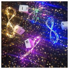Đèn LED Đom Đóm Fairylight Trang Trí Decor Nhà Cửa – Có 3 Chế Độ – Kèm Sẵn Pin (1 mét / 2 mét)