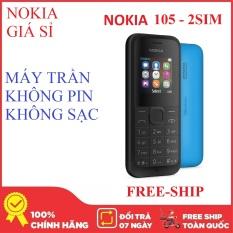 Điện thoại Nokia 105 – 2SIM – 2015 – Máy trần – Nokia Giá Sỉ