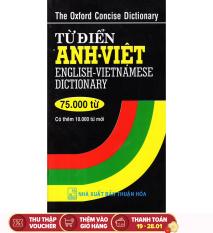 Sách Từ Điển Anh – Việt 75000 Từ