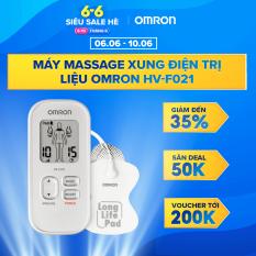 Máy Massage Xung Điện Trị Liệu OMRON HV-F021