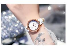 (Siêu phẩm) Đồng hồ nữ Guou GC6014 3D dây da thời trang