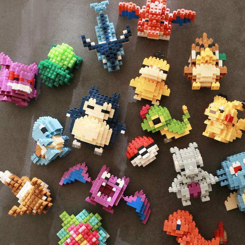 Bộ Đồ Chơi Lắp Ráp Lego Hình Pokemon Nhiều Loại Tùy Chọn