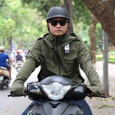 Áo chống nắng Thời trang nam Kojiba áo khoác nam đẹp Vải Kaki chống tia UV cao cấp Có nhiều lỗ thông gió và hút gió thoáng mát