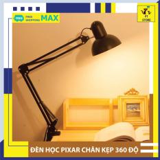 Đèn Học Chống Cận, Đèn Đọc Sách, Đèn Làm Việc Để Bàn Pixar Ánh Sáng Ấm Chống Chói Mắt Lóa Mắt Bảo Vệ Mắt Chiều Cao Thay Đổi Linh Hoạt-[Chân Kẹp] PT Store