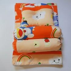 Bộ Gối Nệm Sơ Sinh Kate Cho Bé-Đủ Màu – Tạo cảm giác thoải mái cho bé khi ngủ, phù hợp với trẻ từ 0 đế 12 tháng tuổi