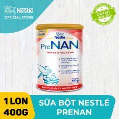 [FREESHIP 30K HCM&HN ĐƠN 399K] Sữa bột Nestle PreNAN 400g dành cho trẻ từ lúc mới sinh cung cấp đầy đủ nhu cầu dinh dưỡng đặc biệt cho trẻ nhẹ cân non tháng