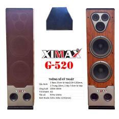 Loa đứng XIMAX G-520 (2 bass 25) – tặng voucher 50% phí vận chuyển