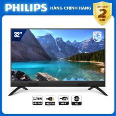 TIVI PHILIPS 32 INCH 32PHT5583/74 LED HD (DIGITAL TV DVB-T2 – HÀNG THÁI LAN) – TIVI GIÁ RẺ – TẶNG USB CỰC CHẤT 16G – BẢO HÀNH CHÍNH HÃNG 2 NĂM TẠI NHÀ