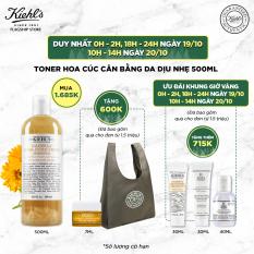 Nước cân bằng hoa cúc Kiehl's Calendula Herbal Extract Alcohol-Free Toner 500ml