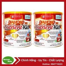 Combo 2 lon sữa Diamond Nutrient Kid 1 700g 6-36 tháng tuổi