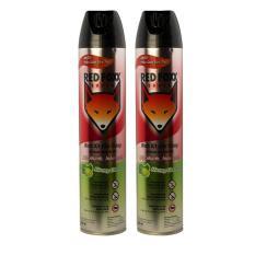 Combo 2 chai Red Foxx Power Xịt Côn Trùng Lavender 600ml