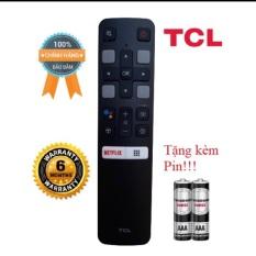 Điều khiển tivi TCL GIỌNG NÓI chinh hãng đen