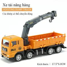 Xe ô tô tải nâng hàng đồ chơi cho bé, cầm tay vừa vặn, mượt mà,dễ chơi, dễ cầm nắm, chi tiết tinh xảo. ( đồ chơi mô hình-xe mô hình đồ chơi, ô tô đồ chơi)