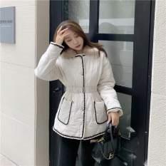 Áo khoác phao cổ lông nữ