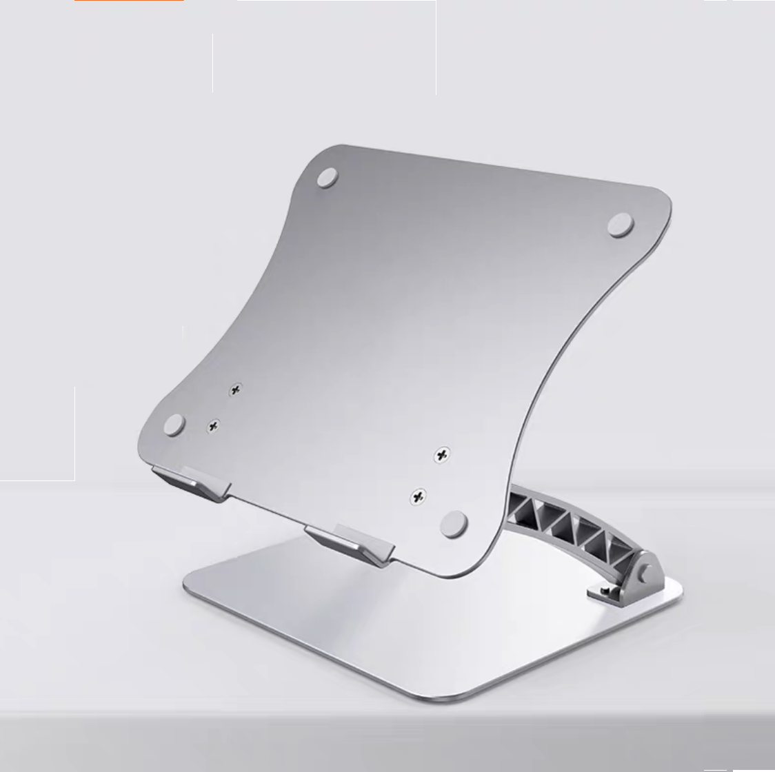 Giá đỡ laptop nhôm nguyên khối nâng cao Laptop Macbook có thể chỉnh độ cao