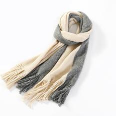 Khăn Chất Len Dạ Cashmere Pha Màu Style Hàn Quốc Dành Cho Cả Nam Và Nữ – Khăn giữ ấm
