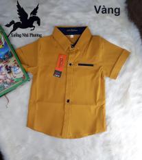 Áo Sơ Mi Cho Bé Trai Vải Nhập Khẩu Thái Lan Mềm Mịn Co Giản Cực Tốt Nhiều Màu Size Bé 5-10 tuổi Từ 10-22kg