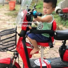 Ghế ngồi xe máy điện, xe đạp điện, mã p01