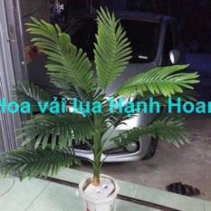 Cây dừa cao 1m trang trí – Cây giả