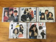 Bộ 5 Đĩa nhạc CD LIÊN KHÚC ASIA chọn lọc