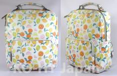 Balo thời trang PARFOIS Fruit patern backpack-white