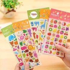 Sticker Nổi 3D The Zoo Xinh Xắn T084