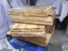 [Siêu rẻ] Mặt Bàn gỗ cao su 40×60