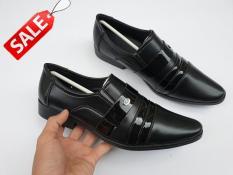 Giày tây nam trơn bán chạy – Sale giá sỉ giày công sở nam thời trang cao cấp thích hợp với các bộ quần tây áo sơ mi Sarahfashion – QTASR001
