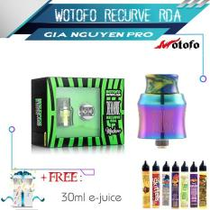 Wotofo RECURVE RDA by MikeVapes Tank 510 (Size 24mm) – Hàng Authentic