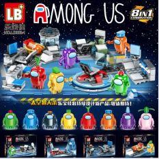 [Giá hủy diệt] Hộp Đồ Chơi Lego Nhân Vật Among Us Cho Bé 8 phân loại Các Mã Siêu Đẹp- Giá Tốt- Uy Tín