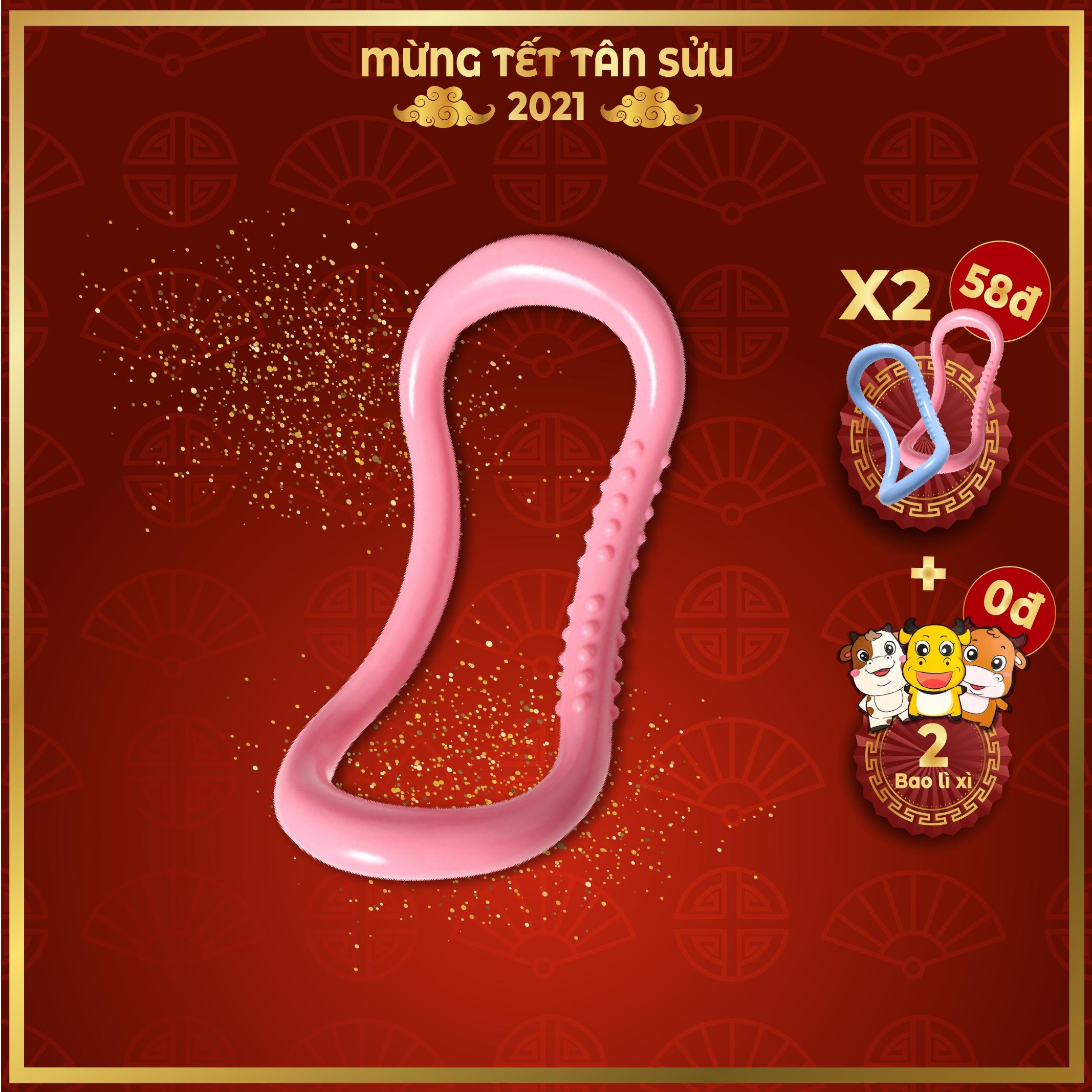 Vòng tập Yoga Myring Nhựa ABS cao cấp, Có gai massage TT001 – Shop Toàn Châu