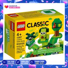 Đồ Chơi Lắp Ráp LEGO CLASSIC Hộp Lắp Ráp Sáng Tạo Xanh Lá 11007