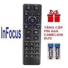 Remote điều khiển máy chiếu INFOCUS mẫu 2 projector ( Hàng hãng – Tặng pin )