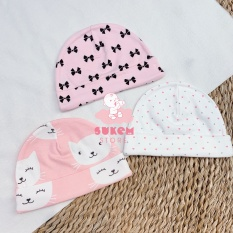 Set 3 Mũ Tròn Sonozy 0-3m – Sukem Shop