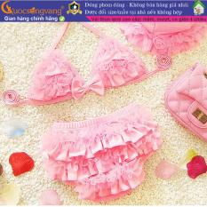 Bộ đồ bơi bé gái hai mảnh đồ đi biển bé gái dễ thương GLSWIM032 Cuocsongvang