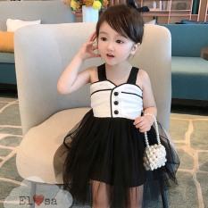 Váy bé gái – Váy ren tiểu thư siêu xinh cho bé 1-5 Tuổi – Váy ren 2 dây