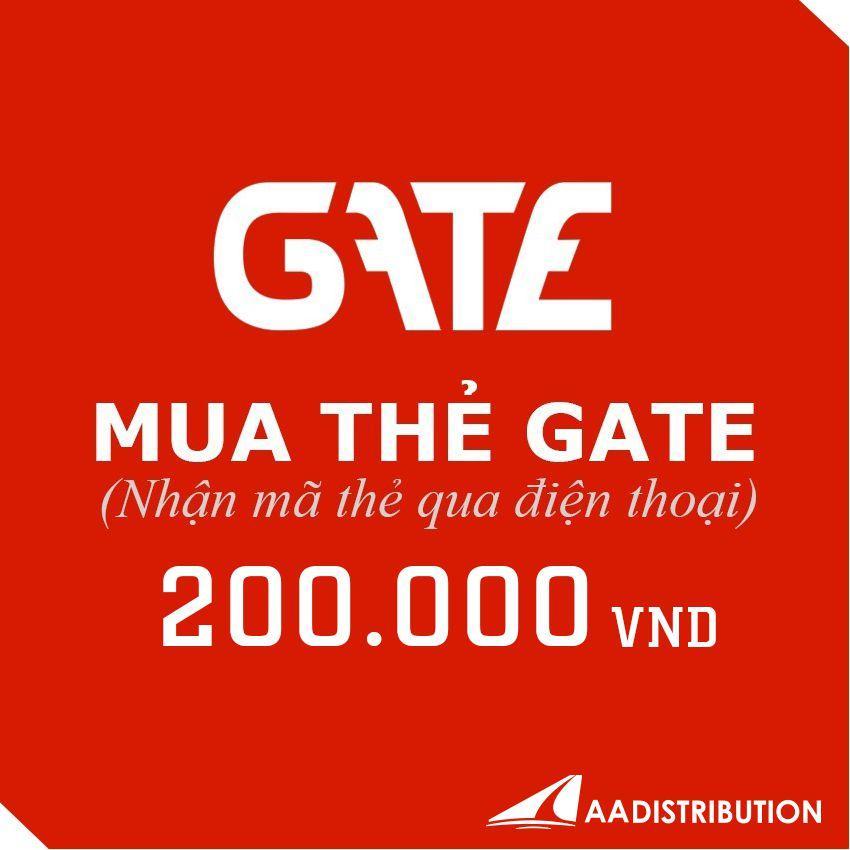 Mã thẻ Gate 200.000