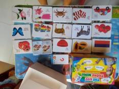 Bộ thẻ học thông minh 416 thẻ 16 chủ đề tiếng Anh tiếng Việt cho bé