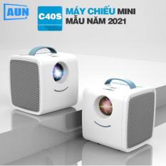 [BẢN MỚI 2021 ] Máy chiếu miniLED AUN C40s – Kích thước nhỏ gọn – Hỗ trợ phân giải full HD 1080p – Âm thanh sống động – Cường độ sáng 1000 lumens – JAVA Shop